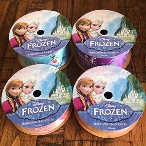 NWT 4 Frozen different Ribbon